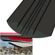 9and039 Marine Boat Megaware Keelguard Keel Protector For Boats Up To 24 Feet - Black