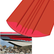 8and039 Marine Boat Megaware Keelguard Keel Protector For Boats Up To 22 Feet Red New