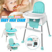 3 In 1 Baby Infant Dining High Chair Toddler Eating Feeding Table Seat For Child