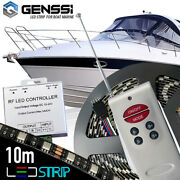 Boat Marine Deck Interior Waterproof Led Strip Kit With Wireless Remote Control