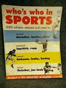 1952 Dell Who's Who In Sports Magazine,baseball,stan Musial, St. Louis Cardinals