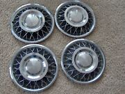 1950s 1955 1956 1960s 1961 1962 1963 Chevy Ford 14 Inch Wire Wheel Covers Nice