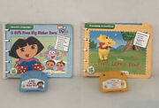 Lot Of 2 Books For My First Leap Pad Gift From Big Sis Dora And Pooh Loves You