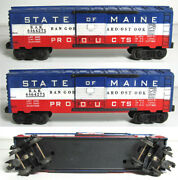 Lionel 6464-275 6464-275 State Of Maine Box Car With Blue Body Mold