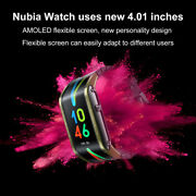 Nubia Watch Bluetooth Mobile Smart Phone Watch 4.01 Curved Screen Amoled Wrist