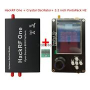 1mhz-6ghz Hackrf One +shell Crystal Oscillator + Portapack H2 3.2 Touch Screen