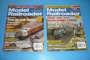 2 Model Railroader Toy Train Collector Magazine Lot - April / May 2007