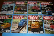 8 Classic Toy Trains Toy Train Collector Magazine Lot - 2004