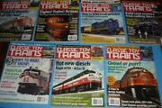 7 Classic Toy Trains Toy Train Collector Magazine Lot - 2005