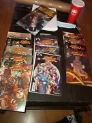 Street Fighter 4 Plus Stf 2 Turbo Beautiful High Grade Comics