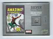 2020 2021 Marvel Ages Silver Metal Relics Amazing Fantasy 15 14/15
