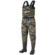 Bassdash Neoprene Chest Fishing Waders With 600 Grams Insulated Rubber Boot Foot