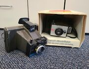 Vintage Polaroid Minute Maker Colorpack And Polaroid Colorpack Ii Camera