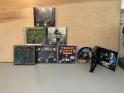 Pc Cd-rom Lot Of 8 Games Medal Of Honor Call Of Duty Star Wars 007 Baldours Gate