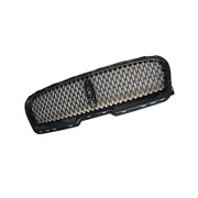 For Lincoln Continental 2017-21 Gloss Black Front Bumper Center Hood Grill Mesh