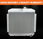 Aluminum Radiator 3 Row Fit 1955-57 Chevy Bel Air One-fifty/two-ten Series 6 Cyl