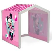 Disney Minnie Mouse Indoor Playhouse With Fabric Tent For Boys And Girls