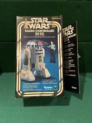 Vintage Star Wars Radio Controlled R2-d2 - 1978 Kenner Toy - New With Opened Box