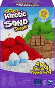 Kinetic Sand Scents 4-pack Distressed Pkg