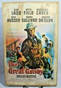 The Great Gatsby Alan Ladd Mgm Movie Vintage Art Handmade Poster Sign