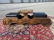 A Very Rare Vintage Tiki Mid Century Modern Witco 2 Person Game Bench 1960andrsquos