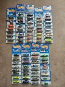 Vintage Case Lot Of 71 New Hot Wheels From 1998 Mint In Packages Mip Mattel
