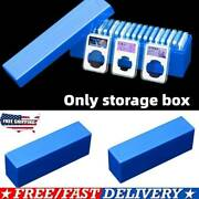 New Storage Box Plastic Case For 20 Certified Pcgs Ngc Slabs Coin Holders Us