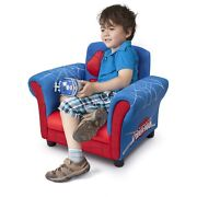 Marvel Spider-man Figurative Upholstered Chair With Padded Arm - Delta Children