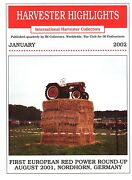 East Moline Plant European Red Power Show Ih Harvester Highlights January 2002