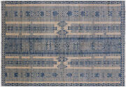 5and039 10 X 8and039 7 Southwest Navajo Hand Knotted Wool Rug - Q6658