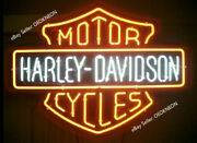 Harley-davidson Hd Motorcycle Real Neon Sign Beer Light Home Decor Birthday Gift