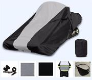 Full Fit Snowmobile Cover Fits Bombardier Lynx Boondocker Ds 850 E-tec 165 2022