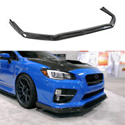 For 2014-2018 Subaru Impreza Front Bumper Lip Spoiler Splitter Real Carbon Fiber