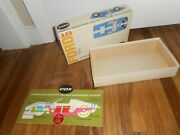 Rare Vintage Cox 1/32 Ford Gt Racing Slot Car Box Only W Paper