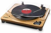 Ion Audio Record Player Air Lp Vinyl Turntable Bluetooth Compatible Usb New