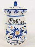 Vintage 1950's Heritage By Royal Sealy Coffee Canister Japan 6