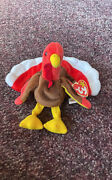 1996 Ty Beanie Baby Gobbles The Turkey Mwmt Retired/rare/collectible Errors