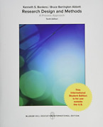 Bordens Kenneth-research Design And Methods A Process App Uk Import Book New
