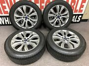 Set Of Ford Edge 2019-2020 Silver 10 Spoke 19x8 10195 Wheels And Tires Package