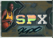 Kevin Durant Autographed 2007-08 Upper Deck Spx Rookie Jersey Card