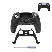 Upper Lower Face Case Cover Handle Housing Shell Diy For Ps5 Game Controller Abs
