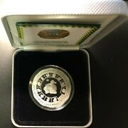 Kazakhstan Silver Coin 500 Tenge 2014 Year Of The Horse+certificate+box