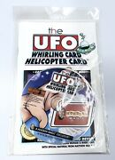 Houdiniand039s Las Vegas Magic Trick The Ufo Whirling Card Helicopter Card New Sealed