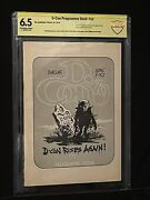 🔥1979 D- Con Program Dallas Cbcs 6.5 Jack Kirby-mike Royer-roy Thomas Signed