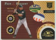 Mike Piazza 2003 Donruss Timeless Treasures Past And Present Dual Patch 8/15