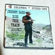 Stereo Ride This Trainjohnny Cashreel To Reel Tape 4 Track Excellent Hc 350