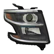 New Right Halogen Headlight Assembly Fits 2015-2017 Chevrolet Tahoe Gm2503405
