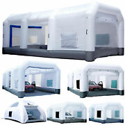 Gorillaspro Inflatable Paint Booth And Ul Blower Upgrade Air Filter System 6 Sizes