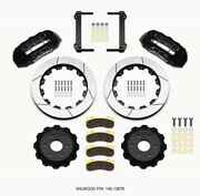Wilwood Tx6r Front Kit 16.00in Black 1999-2014 For Gm Truck/suv 1500