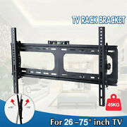 Low Profile Jumbo Tv Wall Mount Bracket For Lcd Led Plasma 32-75 Inch Hold 45kg